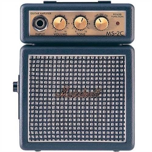 Cubo Amplificador 9v Ms-2c Marshall