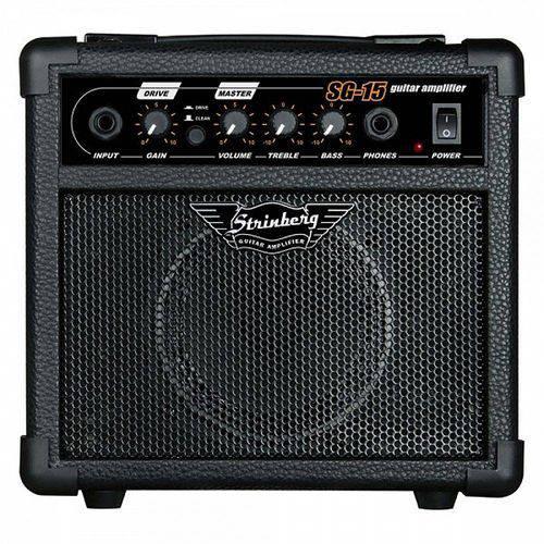 Cubo Amplificador Guitarra Strinberg Sg15