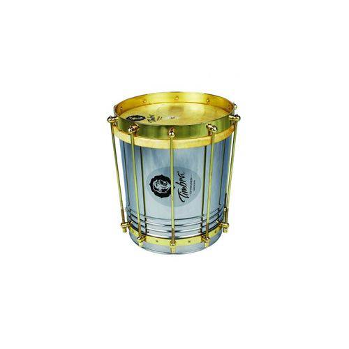 Cuica Timbra 10 X 30 Aço C/Aro Dourado