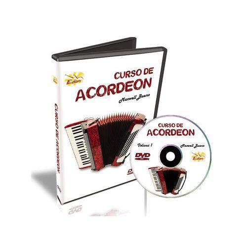 Curso de Acordeon DVD Maxwell Bueno Volume 1 Edon