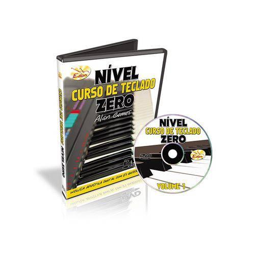 Curso de Teclado DVD Nível Zero Alan Gomes Volume 1 Edon