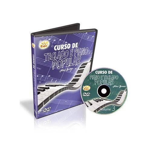 Curso de Teclado e Piano Popular Vol 3