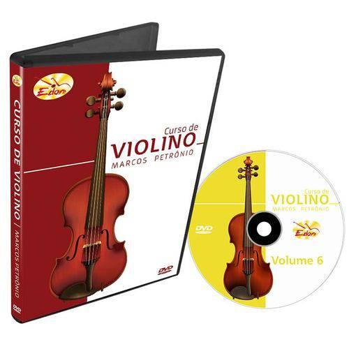 Curso de Violino DVD Marcos Petrônio Volume 6 Edon