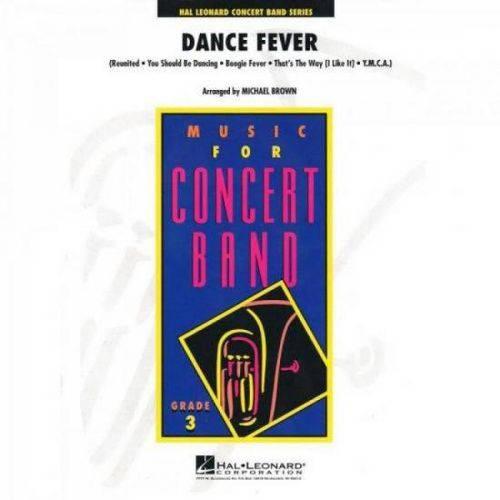 Dance Fever Anos 70 Score Parts Essencial Elements