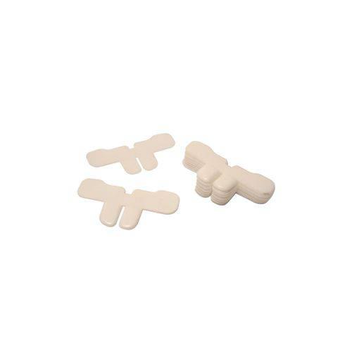 Dente Dentuço Branco - Pacote com 25 Unidades