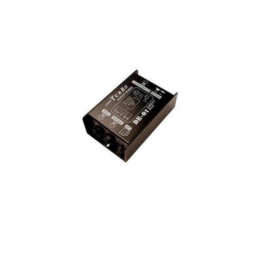 Direct Box Passivo Turbo DB-01 Profissional com 1 Canal