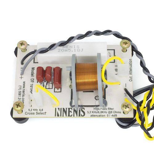 Divisor de Frequência Nenis DF101HP 1 Via para Tweeter - Até 100 Watts RMS