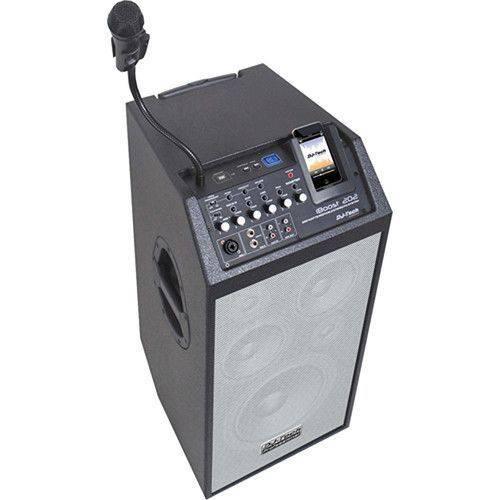 Dj Tech Alto Falante Iboost-202 Ipod/usb