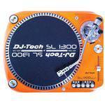 Dj Tech Disco Vinil Sl-1300 Mk6 Usb Orange