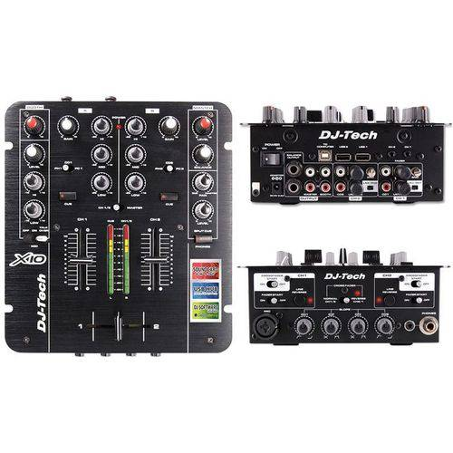 Dj Tech Mixer X-10 2ch