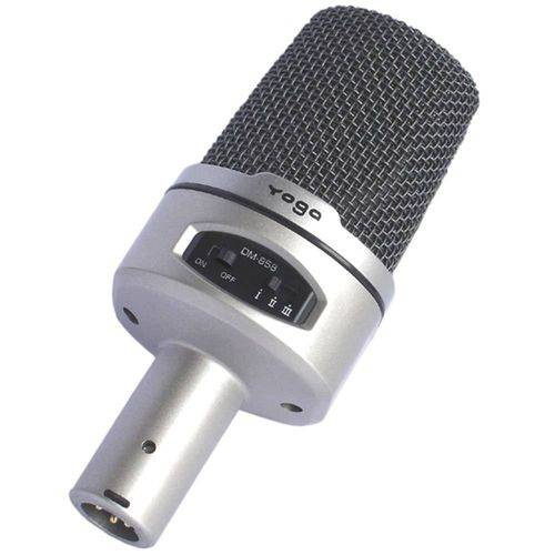 Dm 858 - Microfone C/ Fio P/ Estúdio Dm858 Yoga