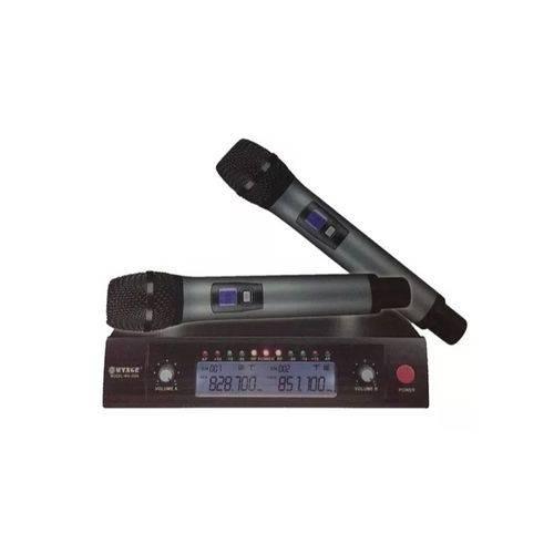 Dois Microfones Receptor Uhf Qualidade Profissional Wg2006