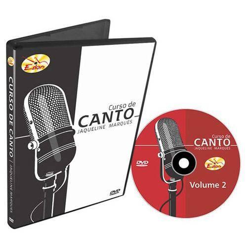 DVD Curso de Canto Volume 2 CCTO2 Edon