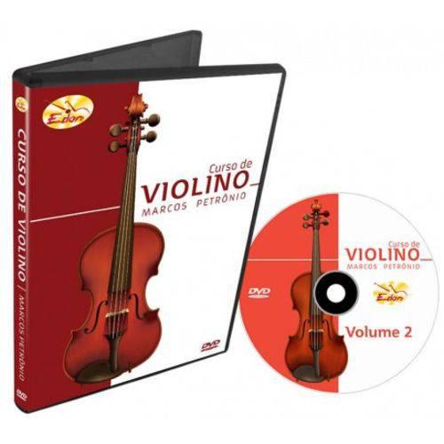 DVD Curso de Violino Volume 2 CVL2 Edon