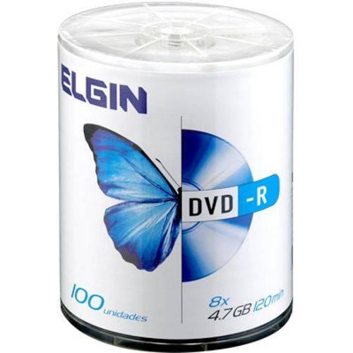 Dvd-r 4.7gb Shrink C/100 Elgin