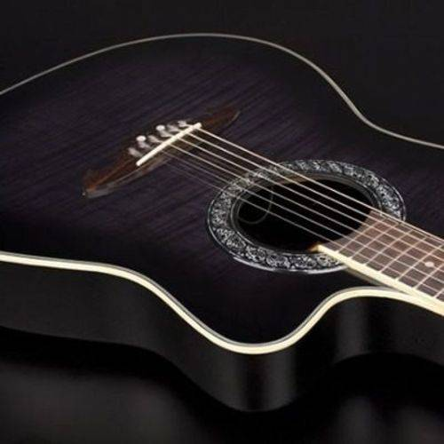 Eagle Ch306 Violão Aço Elétr em Fibra :black -