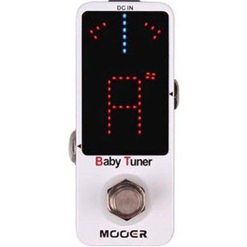Efeitos Pedal Afinador Mooer Mtu1 Baby Tuner