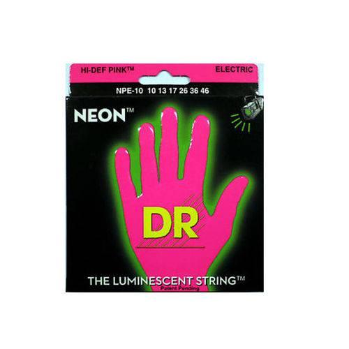 Enc Guitarra Dr 010 Neon Pink Npe-10