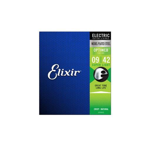 Enc Guitarra Elixir 009 Super Light Optiweb