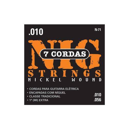 Enc Guitarra Nig 010 N71 7 Cordas