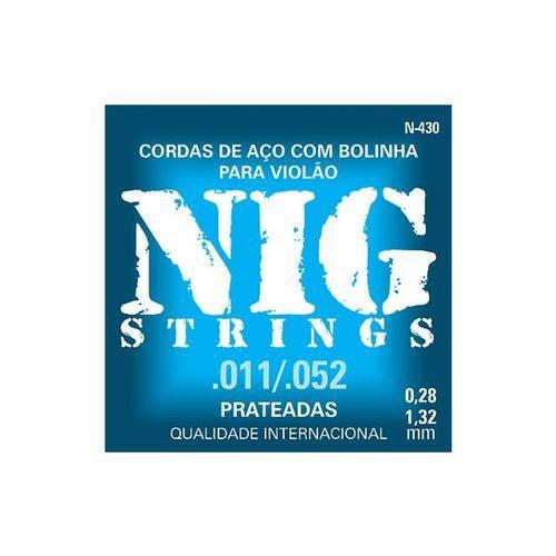 Enc Violao Aco Nig N430 0.011