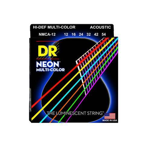 Enc Violao Dr 012 Neon Multicolor
