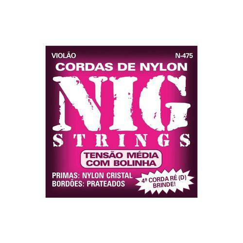 Enc Violao Ny Nig N 475 C/ Bolinha T.Media