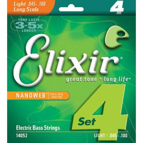 Encordoamento 045 Light L.s para Baixo 4c Elixir