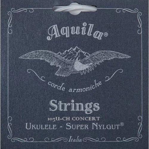 Encordoamento Áquila High G para Ukulele Concert Aq 103u Ch