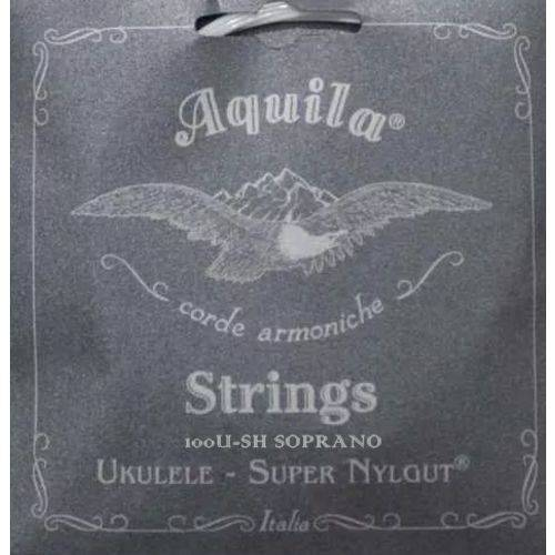 Encordoamento Áquila High G para Ukulele Soprano Aq 100u-sh