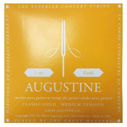 Encordoamento Augustine Gold Nylon