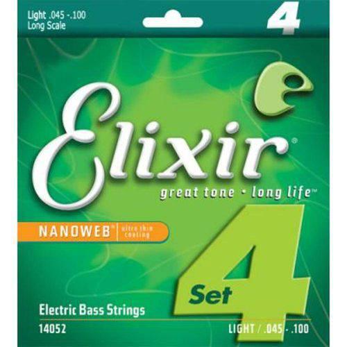 Encordoamento Baixo 4c Elixir 045 Light/ls