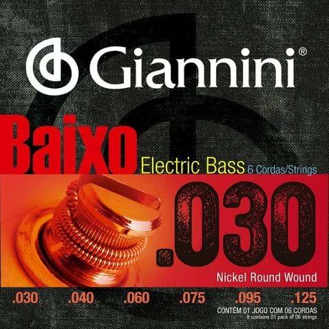 Encordoamento Baixo 6c Giannini Geebrlx6 0.030