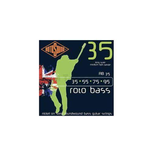 Encordoamento Baixo Rotosound Rb35 (Roto Boss) 4 Cordas 035-95