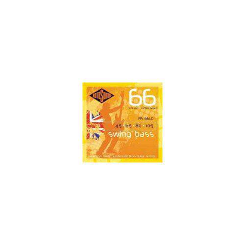 Encordoamento Baixo Rotosound Rs66ld (Swing Boss) 4 Cordas 045-105