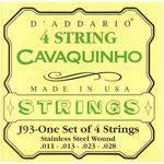Encordoamento Cavaquinho D' Addario 0,11 J 93