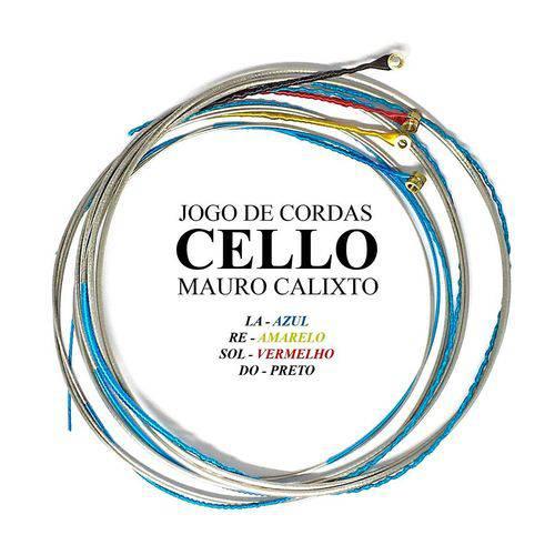 Encordoamento Completo (Jogo de Cordas) para Cello Mauro Calixto #MC-300