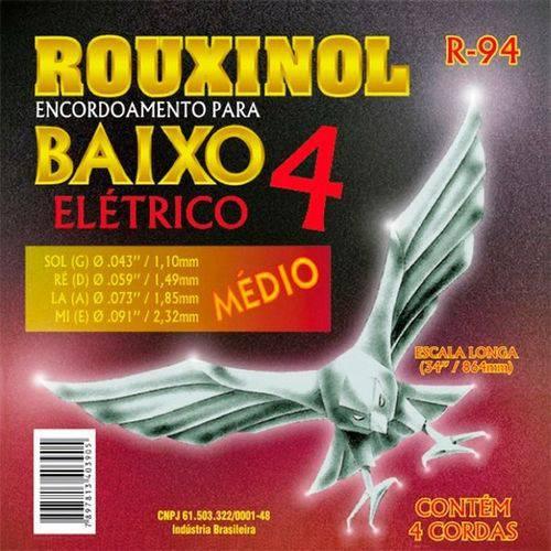 Encordoamento Contra Baixo Rouxinol R94