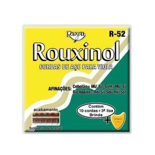 Encordoamento Corda Rouxinol Viola R52