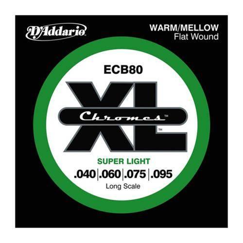 Encordoamento Daddario Ecb80 040 04c para Contrabaixo