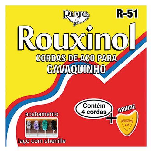 Encordoamento de Aço para Cavaquinho R51 ROUXINOL
