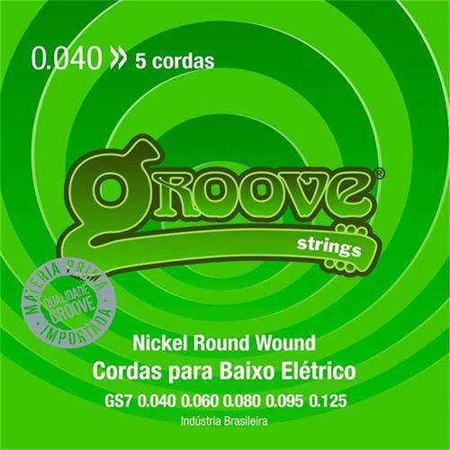 Encordoamento de Baixo 4 Cordas Groove 40/95