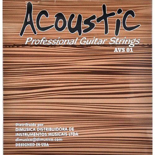 Encordoamento de Viola de Arco Acoustic Avs 01