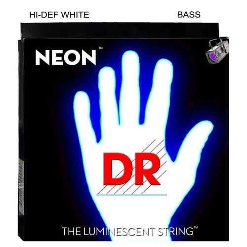 Encordoamento Dr Neon Nwb5 para Contrabaixo 5c (040 - 120) - Branca