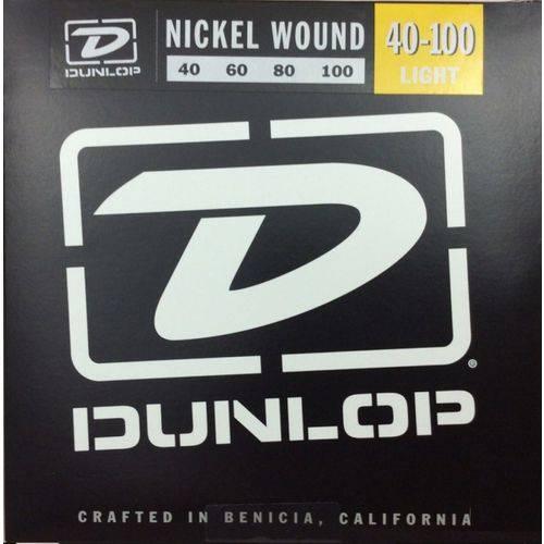 Encordoamento Dunlop 040 Contra Baixo 4c