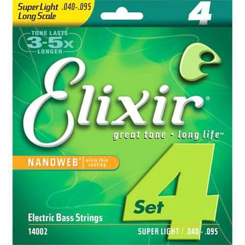 Encordoamento 040 Super Light L.s para Baixo 4c Elixir