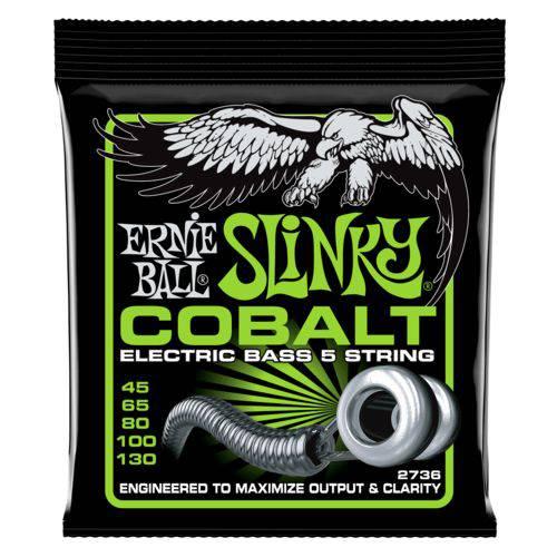 Encordoamento Baixo 5c Ernie Ball Cobalt Slinky 045.130