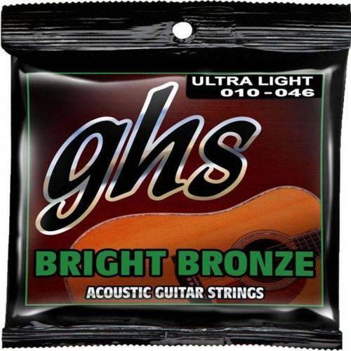 Encordoamento Ghs para Violão Bb10u Bronze