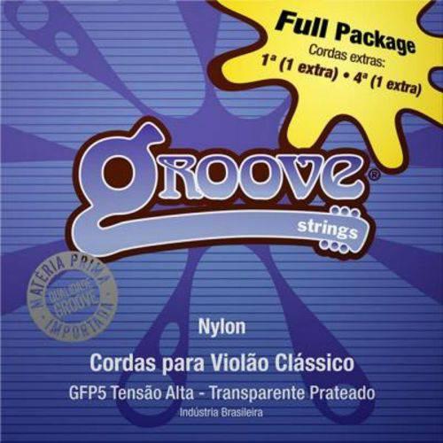 Encordoamento Groove para Violão Nylon GFP5 - Full Package, Tensão Alta