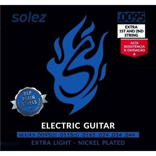 Encordoamento Guitar Solez 0.95 Slg95 com 2 Corda 1 2 Extras